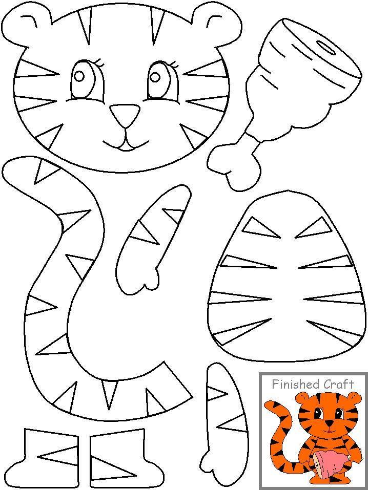 Printable Crafts For Preschoolers  n 718