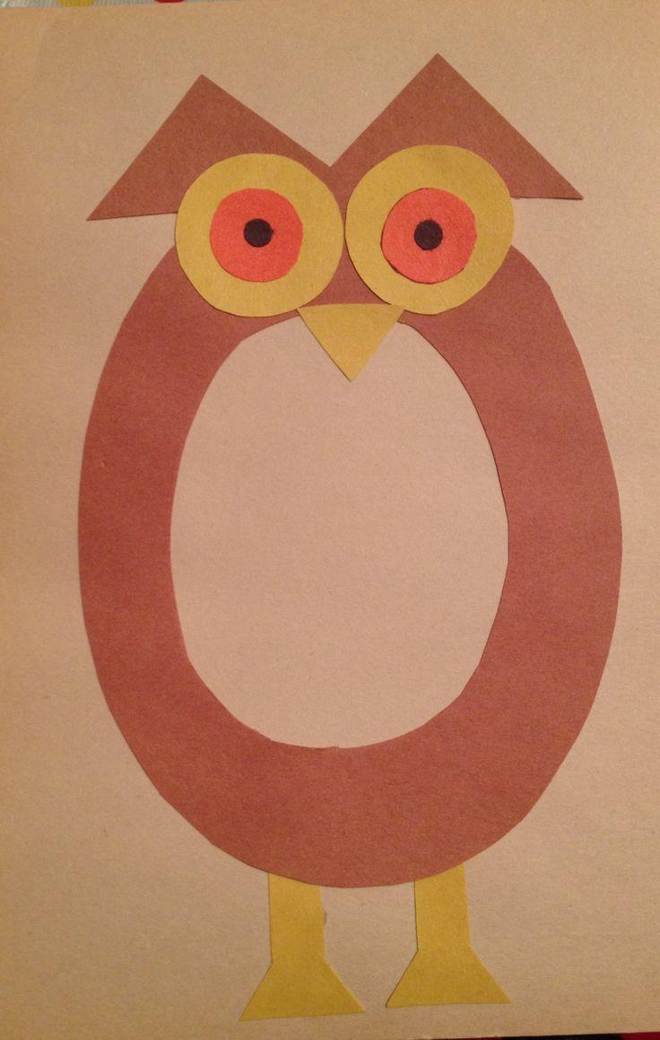 Printable Crafts For Preschoolers  Letter O Crafts Preschool and Kindergarten