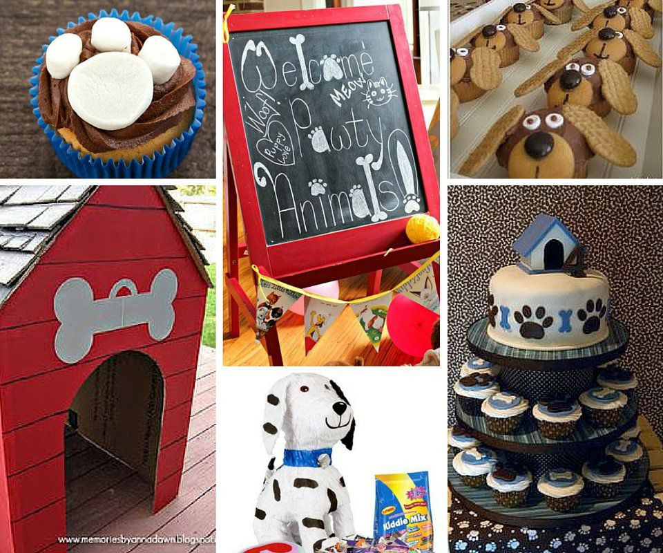 Puppy Birthday Decorations  Dog Party Ideas