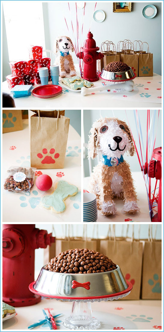 Puppy Birthday Decorations  Real Party Puppy Birthday