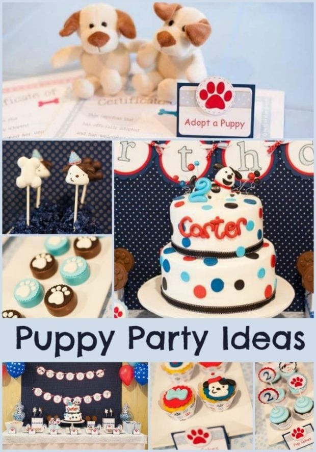 Puppy Birthday Decorations  Puppy Dog Birthday Party Ideas