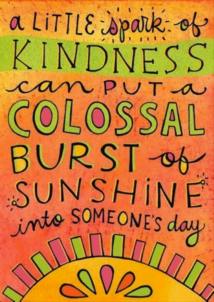 Quote For Kindness  Cloudy Days and Rainbows
