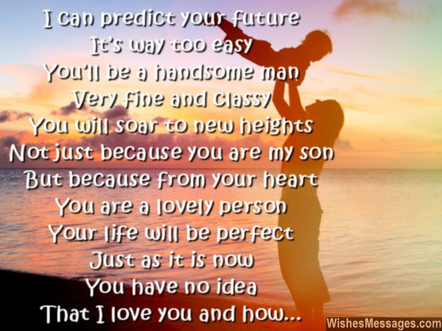 Quote For Son From Mother  I Love You Messages for Son Quotes – WishesMessages