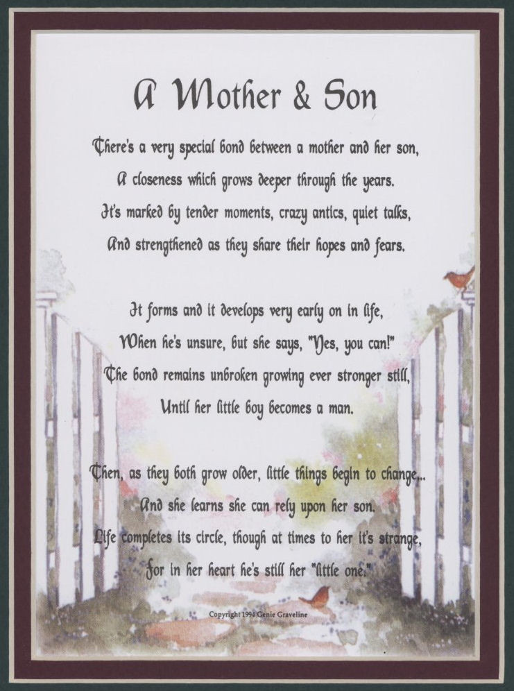 Quote For Son From Mother  Mother Son Quotes For QuotesGram