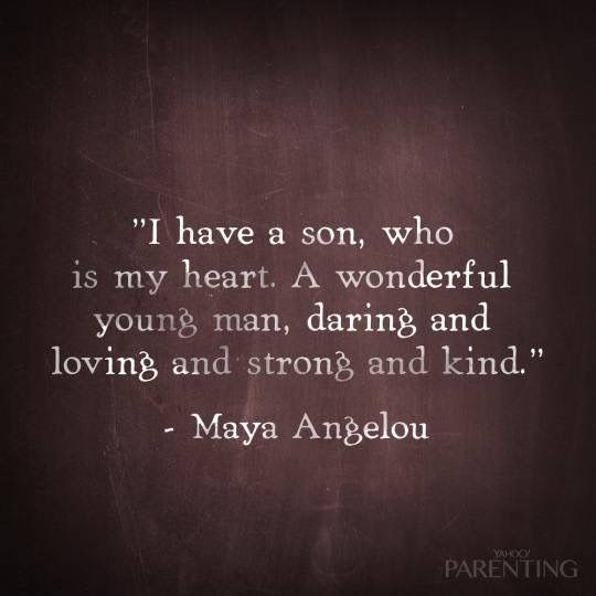 Quote For Son From Mother  Two very special someone sons Kids Pinterest