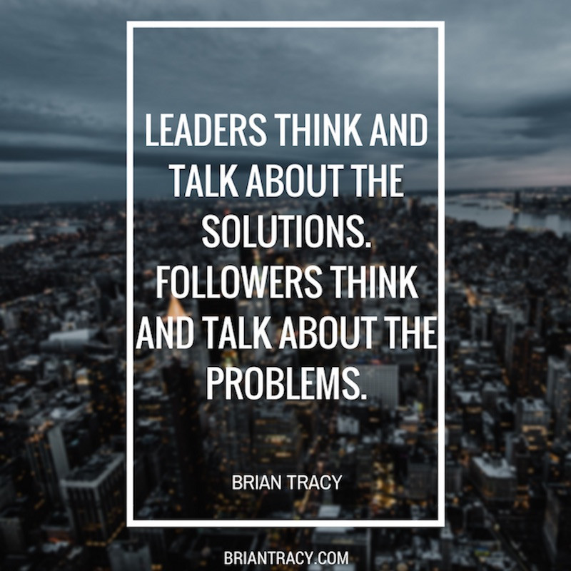 Quote Leadership  20 Brian Tracy Leadership Quotes For Inspiration