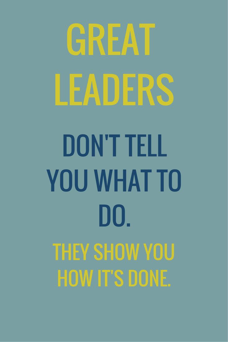 Quote Leadership  Leadership Quotes BONEZ