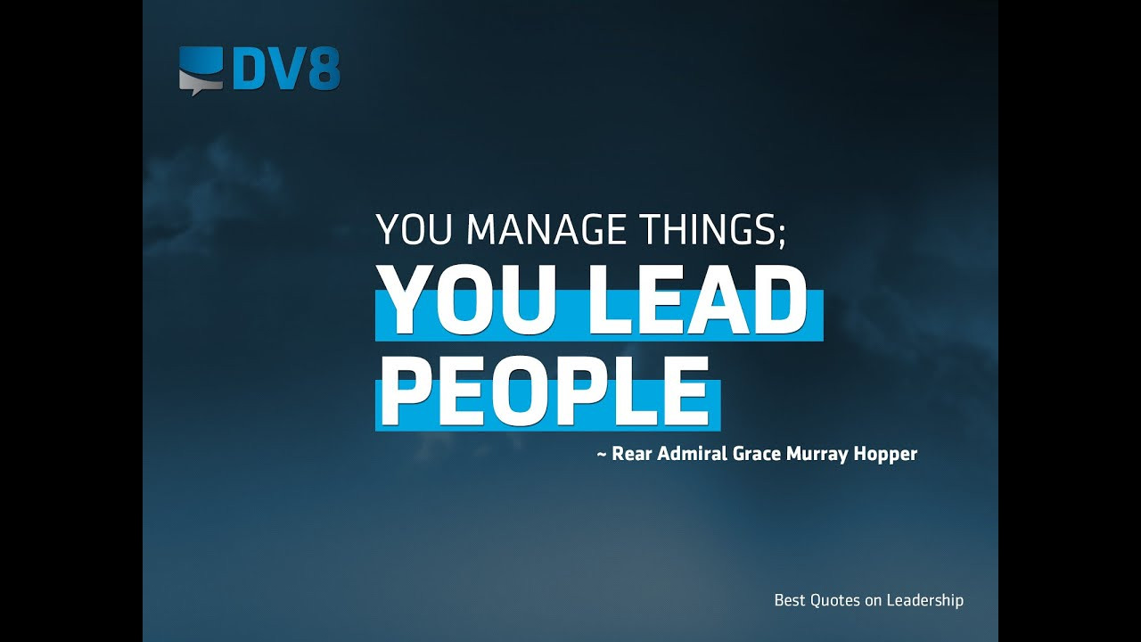 Quote Leadership  Inspirational Leadership Quotes