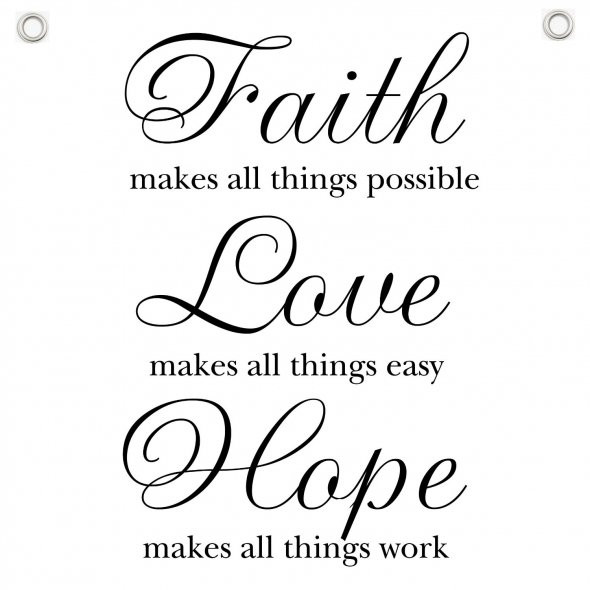 Quotes About Faith And Love  GOD QUOTES ABOUT LOVE HOPE AND FAITH image quotes at