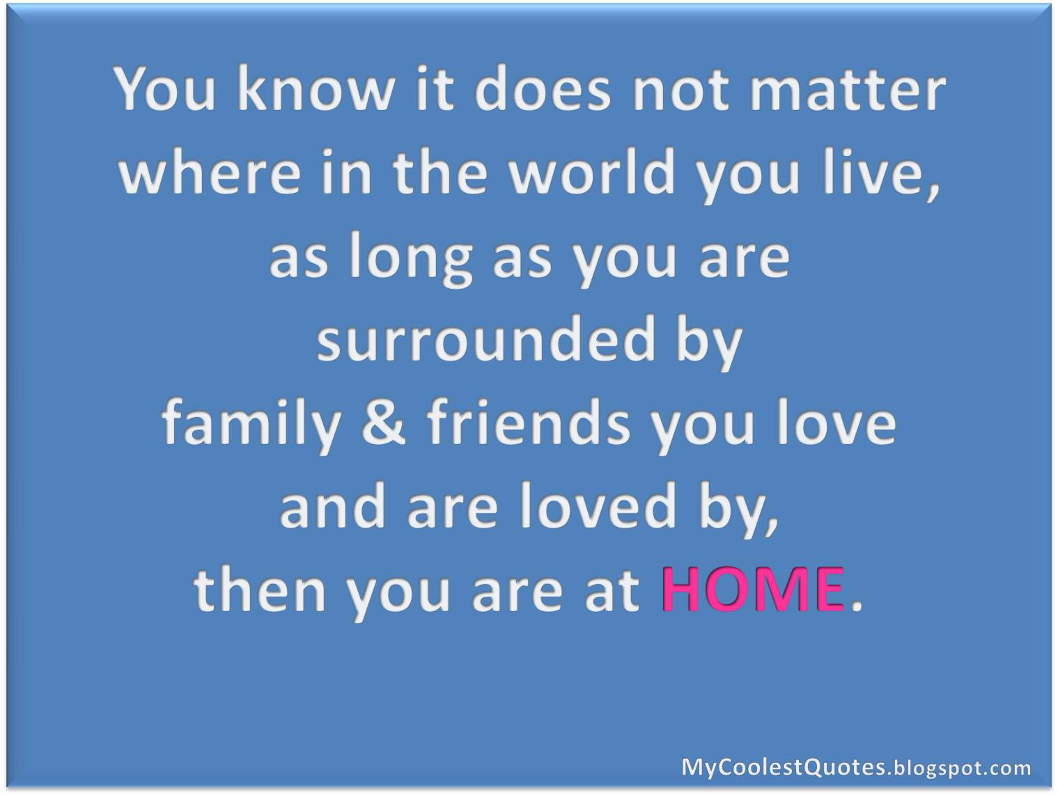 Quotes About Friends And Family  07 17 14