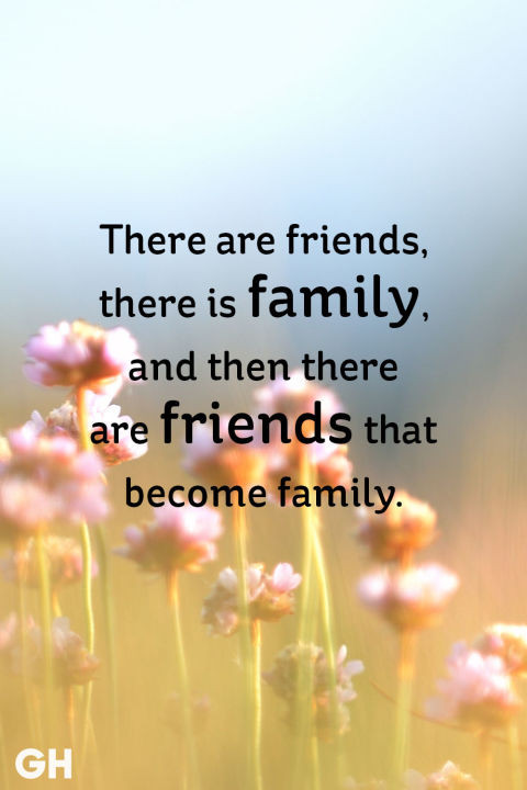 Quotes About Friends And Family  20 Short Friendship Quotes to With Your BFF Cute