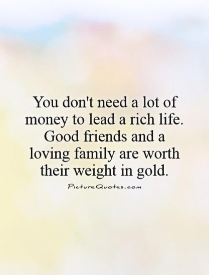 Quotes About Friends And Family  GOOD QUOTE ABOUT FAMILY AND FRIENDS image quotes at