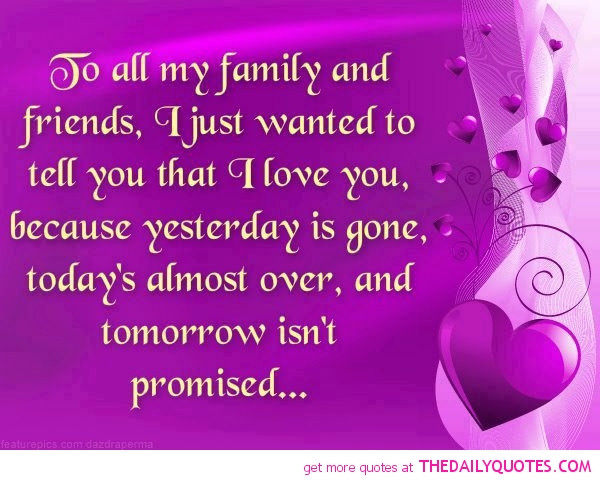 Quotes About Friends And Family  family petitemagique