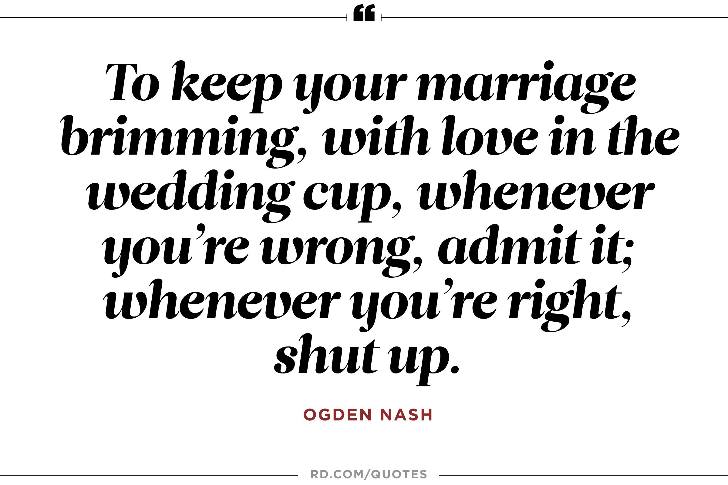 Quotes About Marriage  8 Funny Marriage Quotes From the Greatest Wits of All Time