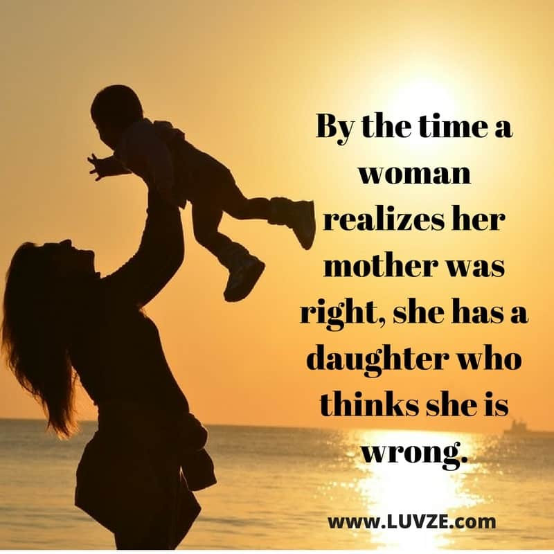 Quotes Mother Daughter  100 Cute Mother Daughter Quotes and Sayings