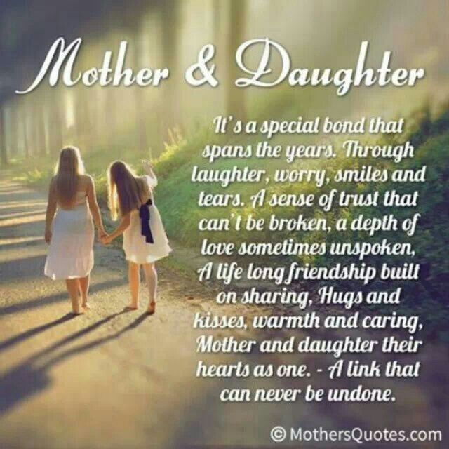 Quotes Mother Daughter  Mother daughter quotes cute Quotes