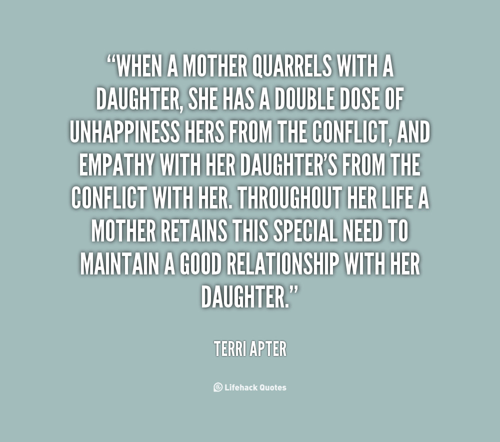 Quotes Mother Daughter  Sad Mother Daughter Quotes QuotesGram