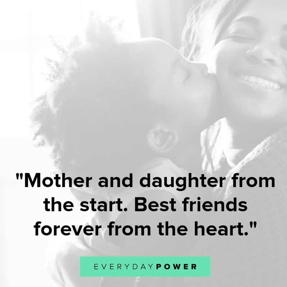 Quotes Mother Daughter  50 Mother Daughter Quotes Expressing Unconditional Love 2019