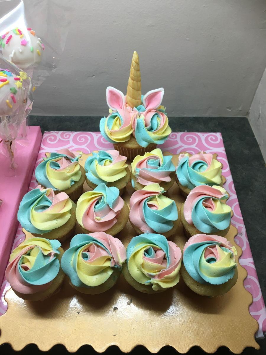 Rainbow And Unicorn Party Ideas  Magical Rainbow Unicorn Party Theme CakeCentral