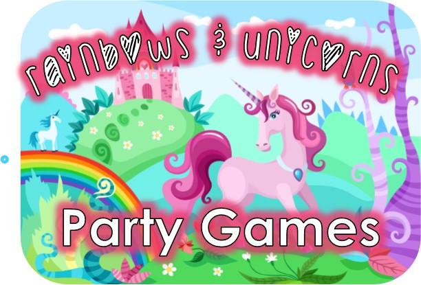 Rainbow And Unicorn Party Ideas  Rainbow and Unicorn Party Game Ideas