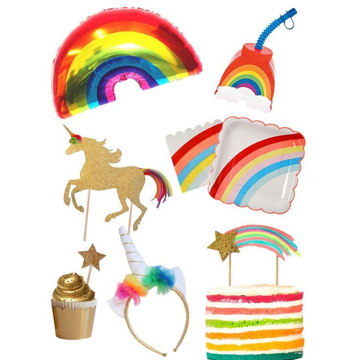 Rainbow And Unicorn Party Ideas  Must Have Rainbow and Unicorn Party Supplies