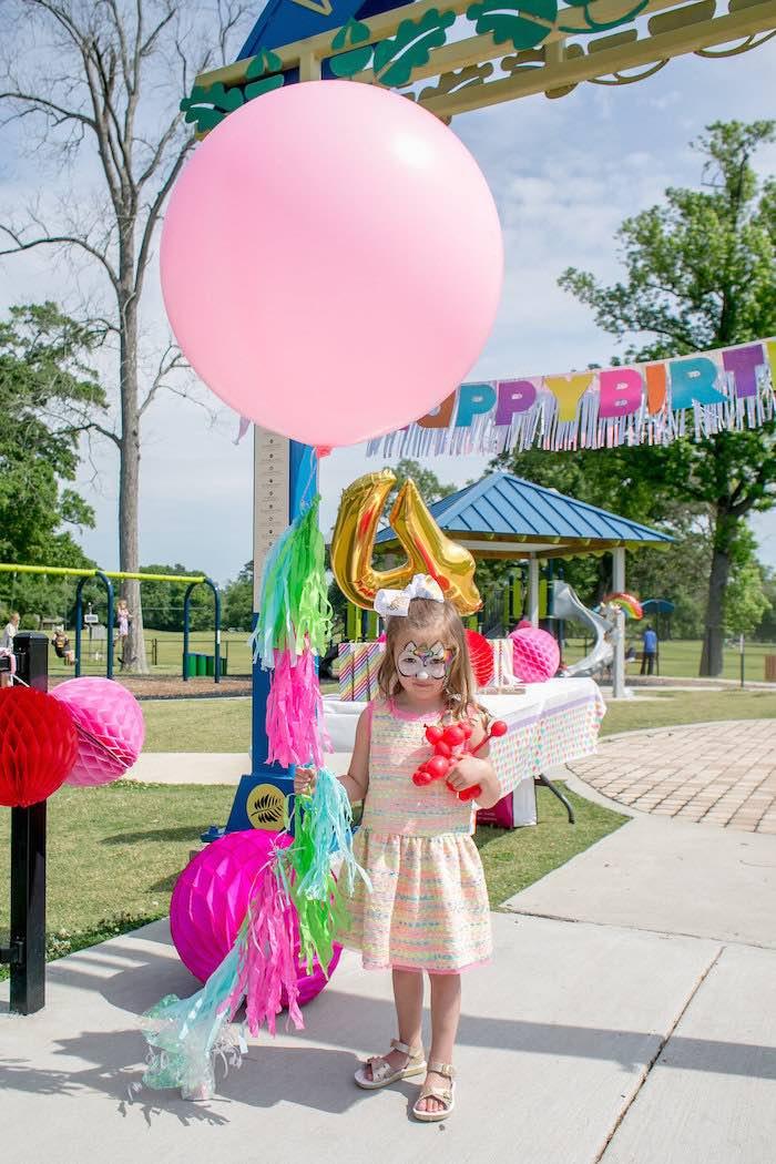 Rainbow Unicorn Birthday Party Ideas  Kara s Party Ideas Rainbow Unicorn Birthday Party