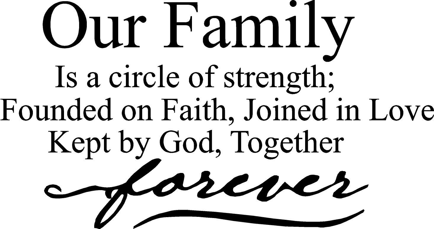 Religious Family Quote  Christian Family Quotes And Sayings QuotesGram
