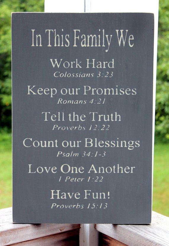 Religious Family Quote  Family Values on Pinterest