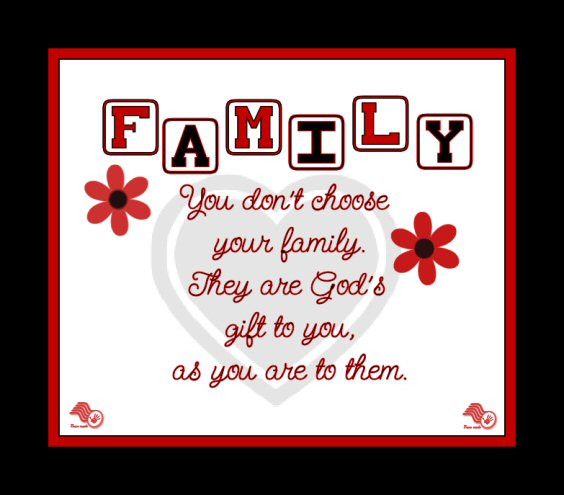Religious Family Quote  Grace From God Christian Families