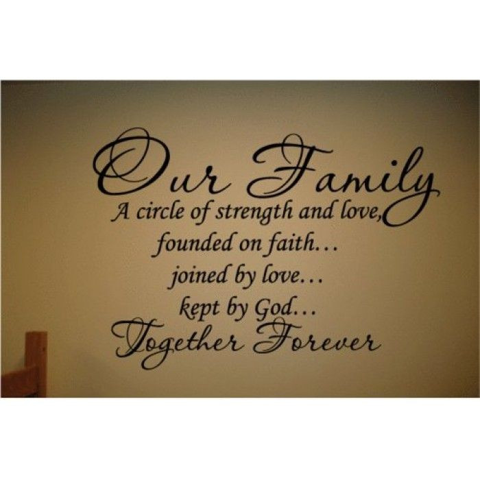 Religious Family Quote  25 best Family Bible Quotes on Pinterest