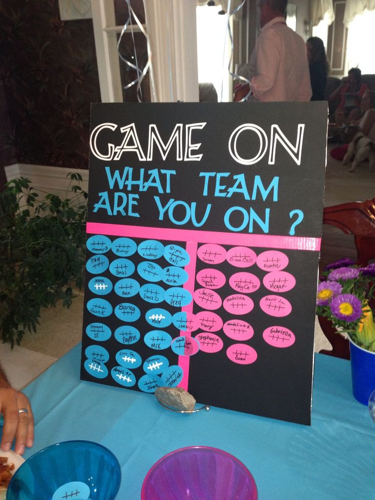 Reveal Baby Gender Party Ideas  Best 25 Gender reveal parties ideas on Pinterest