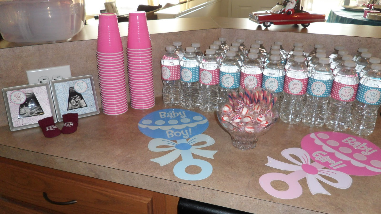 Reveal Baby Gender Party Ideas  Gender Reveal Baby Shower on Pinterest