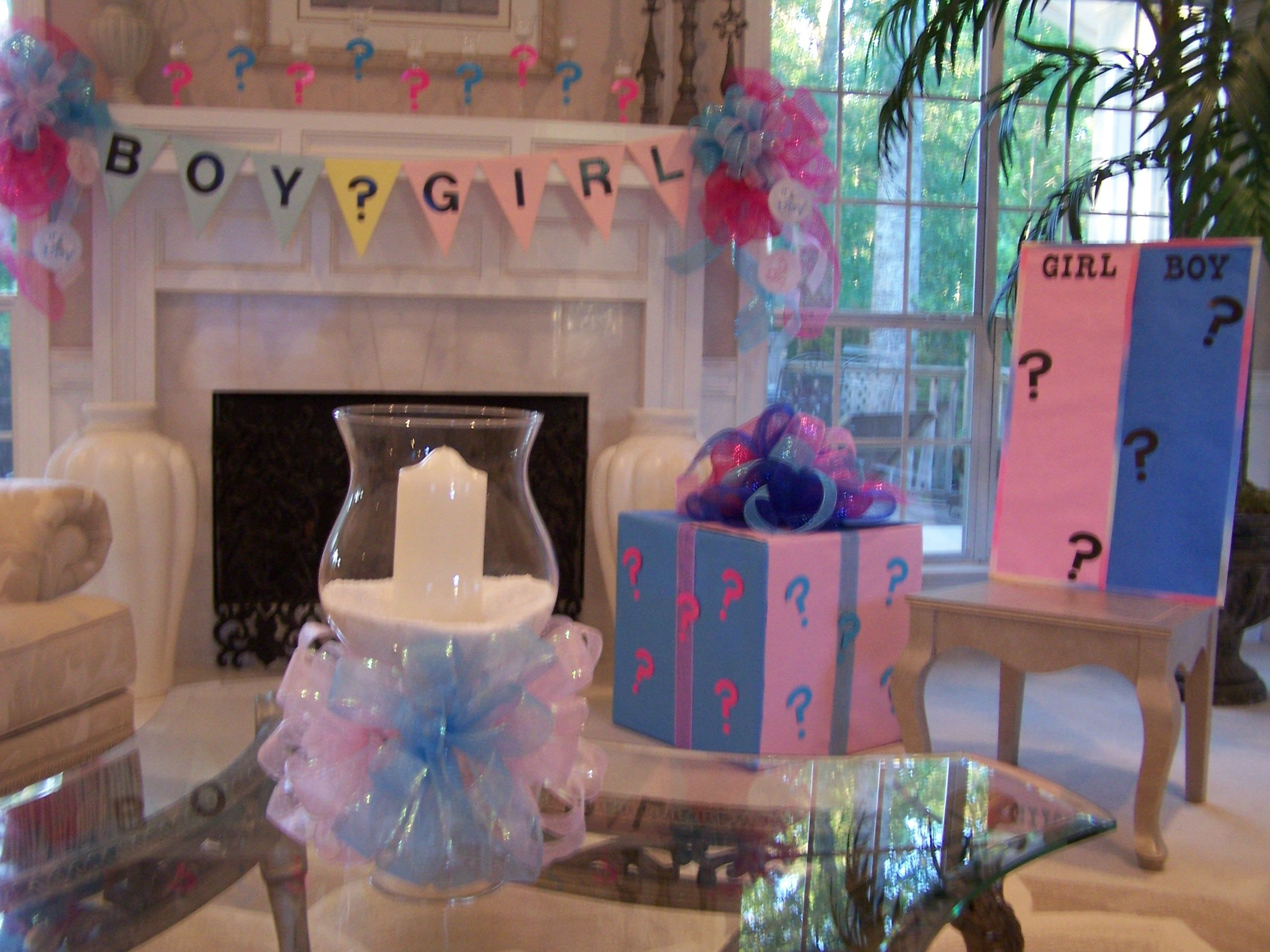 Reveal Baby Gender Party Ideas  Gender reveal party ideas Babies