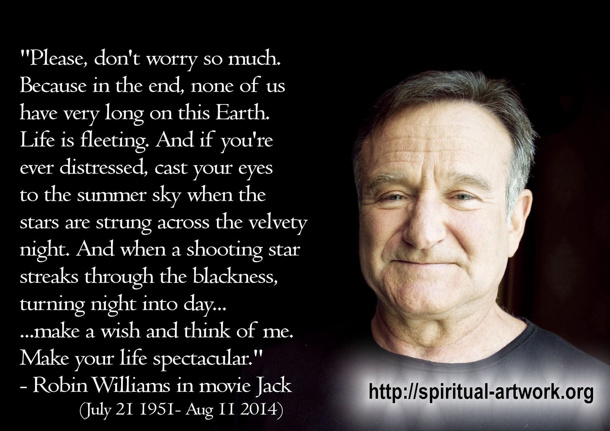 Robin Williams Quotes On Life  e of the Most Touching Yet Devastating Robin Williams
