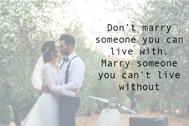 Romantic Marriage Quote  The Most Romantic Quotes for Your Wedding