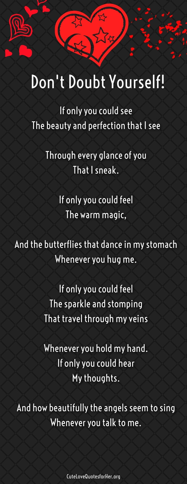 Romantic Quotes For Her To Make Her Cry  Love Poems for your Girlfriend that will Make Her Cry Part 3
