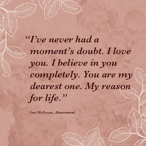 Romantic Quotes From Books  The 8 Most Romantic Quotes from Literature Books