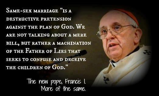 Pope decries abortion, same