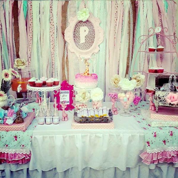 Shabby Chic Birthday Decorations  Shabby Chic Party Ideas Moms & Munchkins
