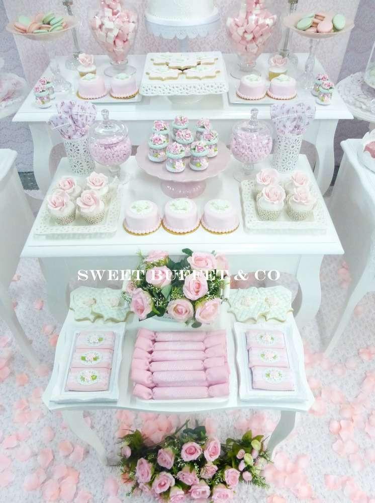 Shabby Chic Birthday Decorations  SHABBY CHIC Birthday Party Ideas 7 of 13