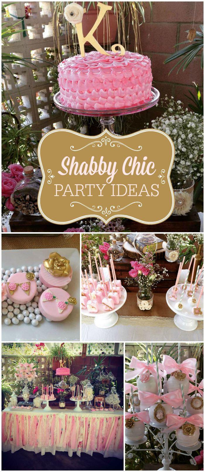Shabby Chic Birthday Decorations  Best 25 Shabby chic cakes ideas on Pinterest