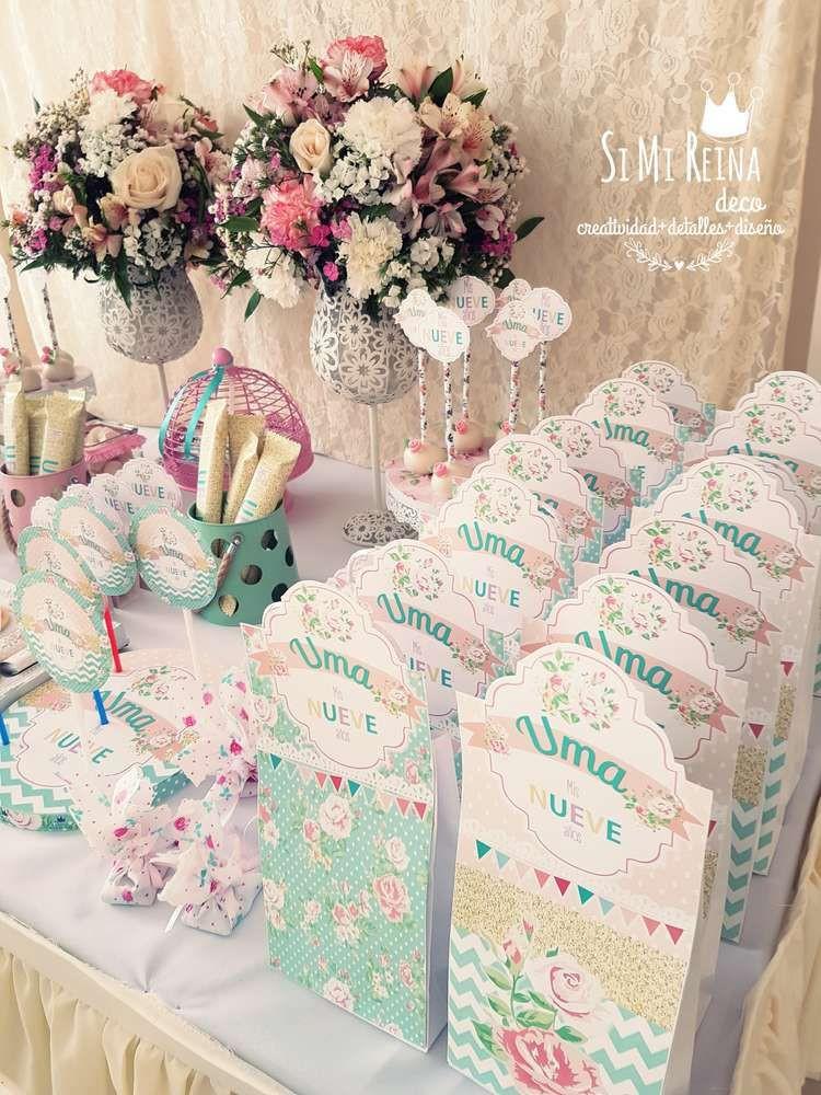 Shabby Chic Birthday Decorations  Shabby chic Birthday Party Ideas in 2019