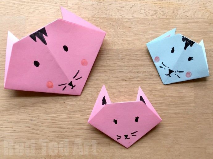 Simple Crafts For Kids  20 Cute and Easy Origami for Kids Easy Peasy and Fun