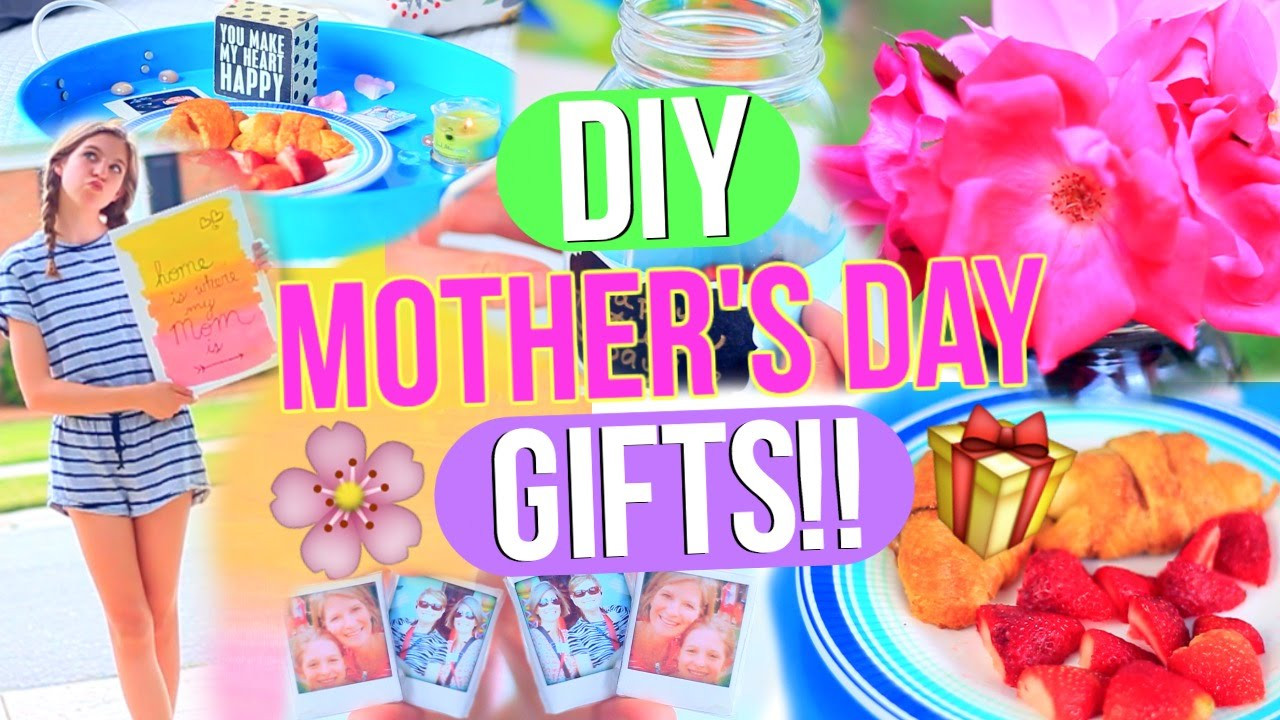 Simple Mother'S Day Gift Ideas  DIY Mother s Day Gifts