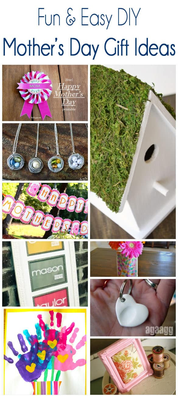 Simple Mother'S Day Gift Ideas  Easy DIY Mother s Day Gift Ideas Pretty Providence