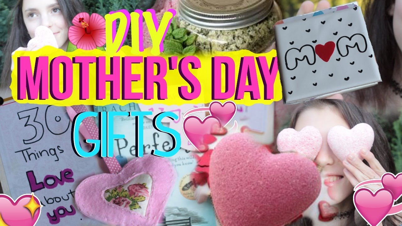 Simple Mother'S Day Gift Ideas  DIY Mother s Day Gifts Cute Easy and Last Minute Gift