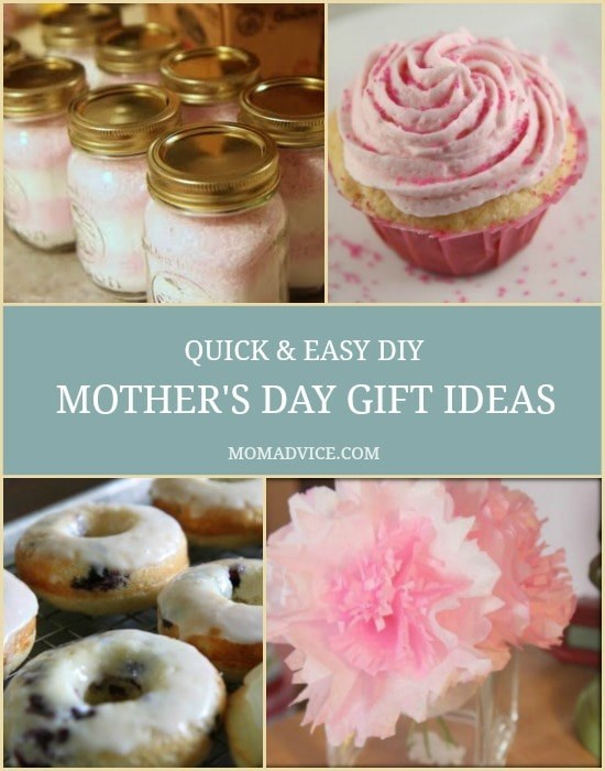 Simple Mother'S Day Gift Ideas  Quick & Easy Mother's Day Gift Ideas MomAdvice