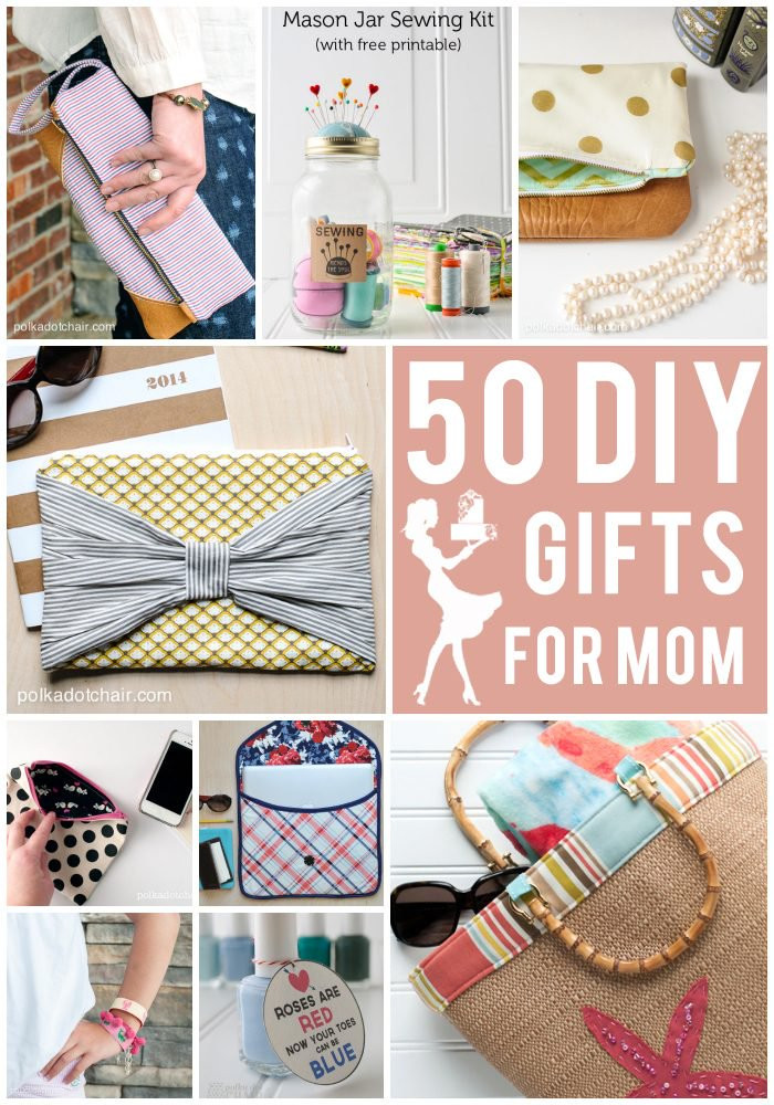 Simple Mother'S Day Gift Ideas  50 DIY Mother s Day Gift Ideas & Projects