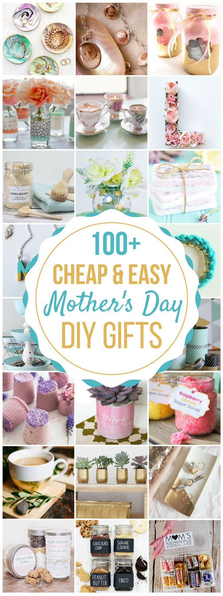 Simple Mother'S Day Gift Ideas  17 Best images about Homemade Gift Ideas on Pinterest