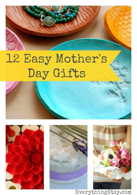 Simple Mother'S Day Gift Ideas  12 Easy Mother's Day Gift Ideas EverythingEtsy